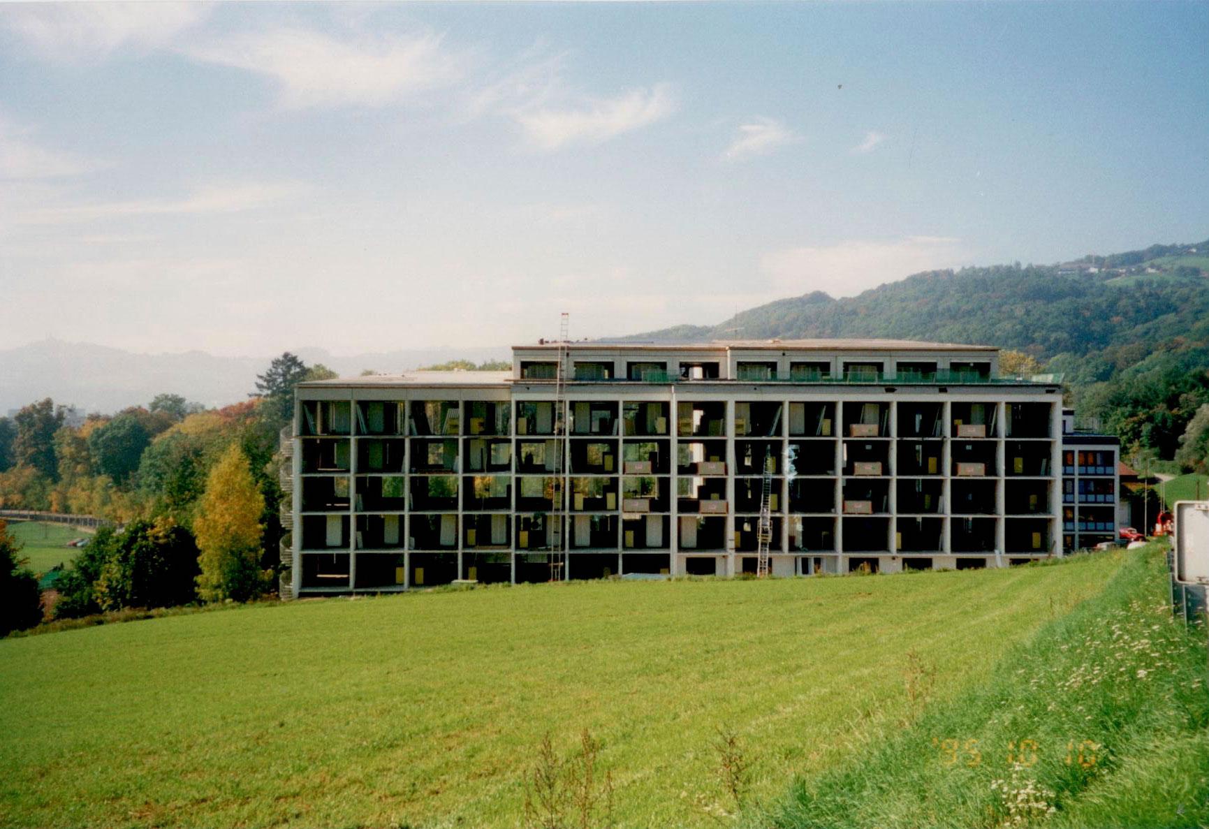 Geschichte - JKH 1. Umbau