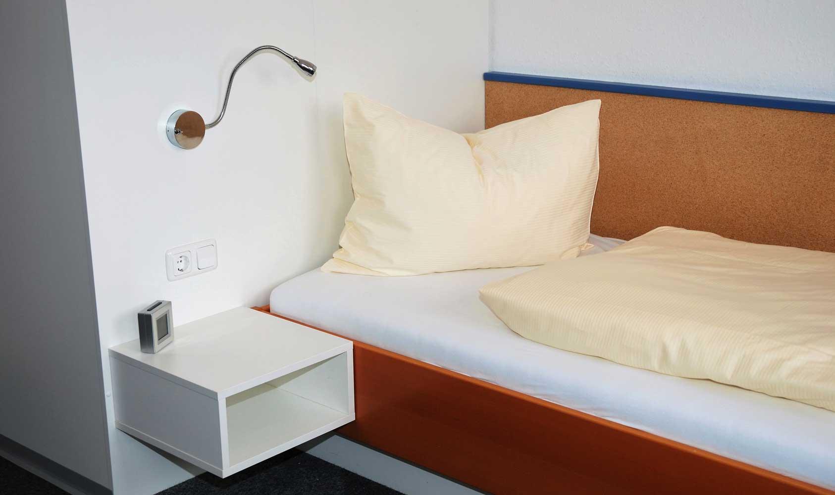Bett im JKH